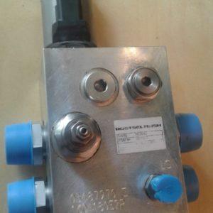 Гидравлический блок для регулировки скорости вращения вентилятора очистки для комбайнов