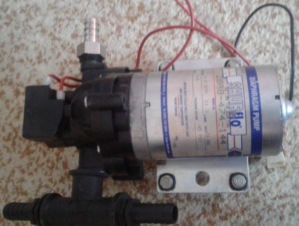 Диафрагментный насос для внесения консервантов кормоуборочного комбайна РСМ-1401